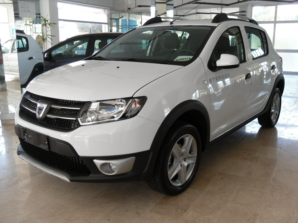 dacia sandero stepway 1 5 dci 90 cv gimas auto marsala. Black Bedroom Furniture Sets. Home Design Ideas